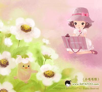 (2009-04-03 23:27:21) 花朵里跳舞的,没错,就是它,傻丫头的好朋友小